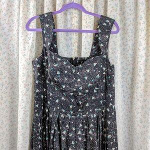 eShakti Corset-style Sun Dress
